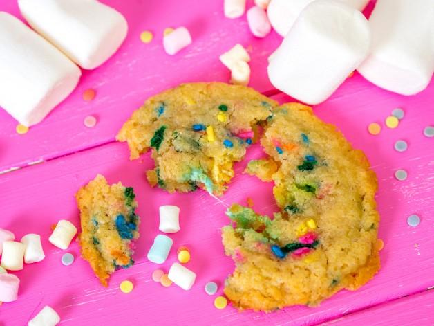 Funfetti Marshmallow Cookies