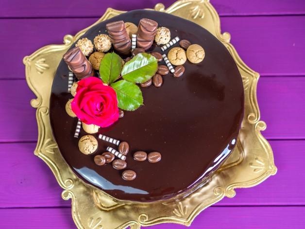 Mirror Glaze Schokolade