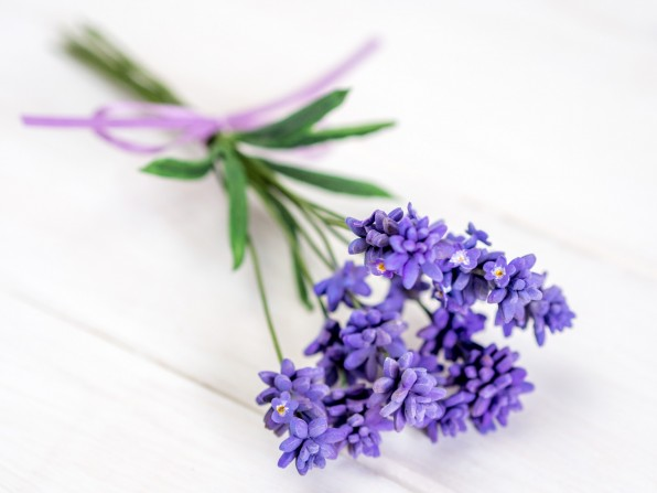 Lavendel aus Blütenpaste {Video}