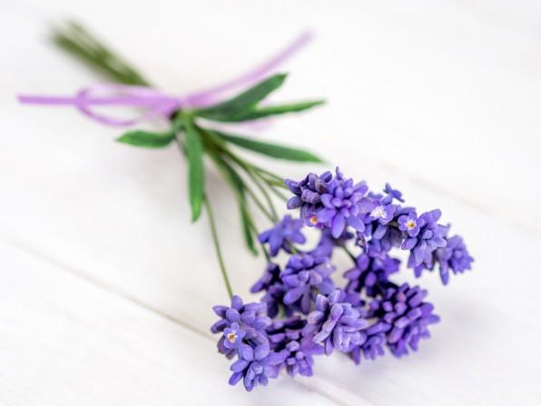 Lavendel aus Blütenpaste {Video}