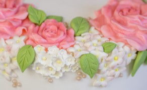 Füllblumen aus der Mould