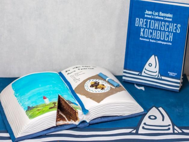 Kriminell köstlich: Das Krimi-Kochbuch zum Essen – Anleitung Buchtorte {Werbung}