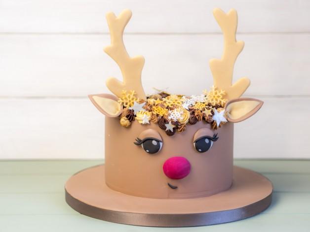 Rentier-Torte – oder Rudolf braucht mal eine Freundin {Video}*
