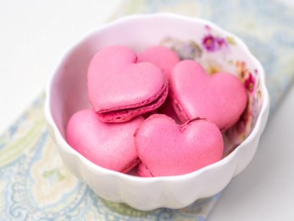Himbeer-Macarons