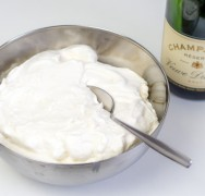 Champagner-Mousse