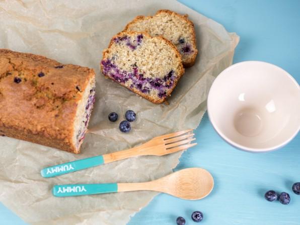 Saftiger Blaubeer-Hafer-Kuchen