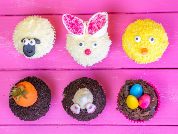 Ostercupcakes Ostermuffins Ostern cupcakes muffins rezept anleitung tutorial
