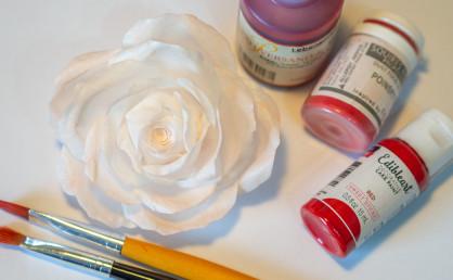 Wafer Paper färben – Tipps und Tricks für Wafer Paper Blumen Teil 2