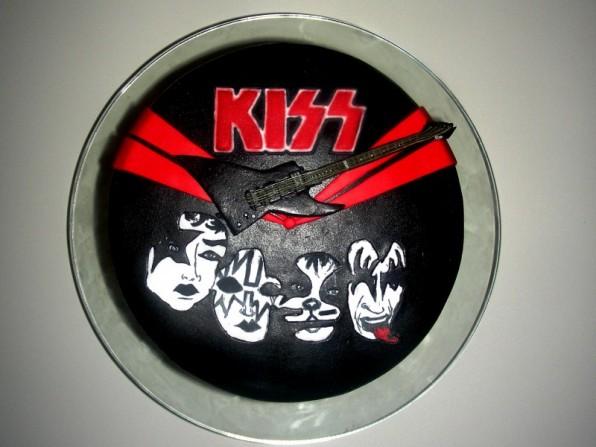 KISS-Logo & Gitarre