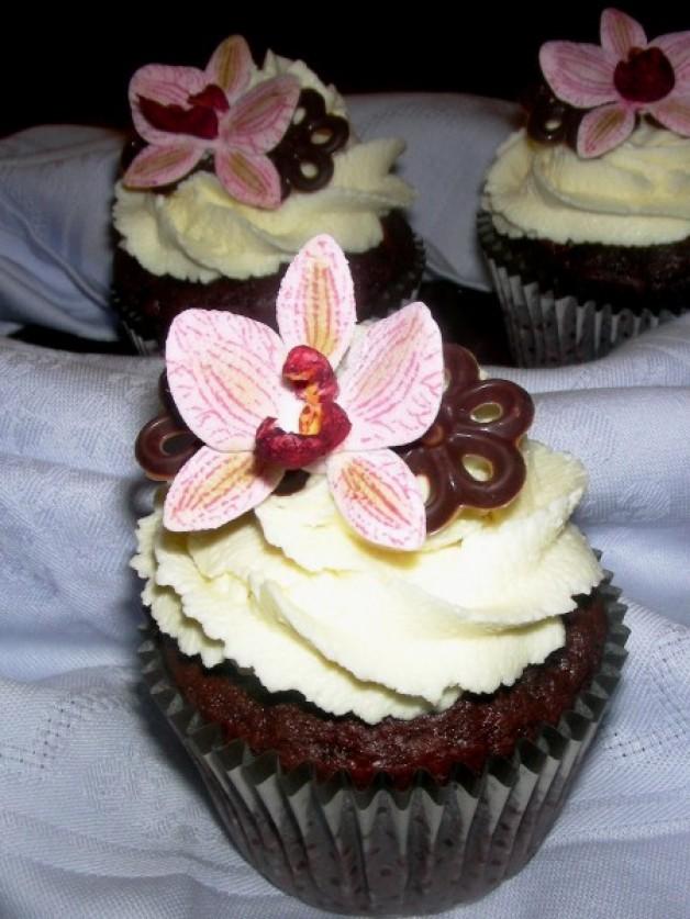 Schoko Kirsch Cupcakes