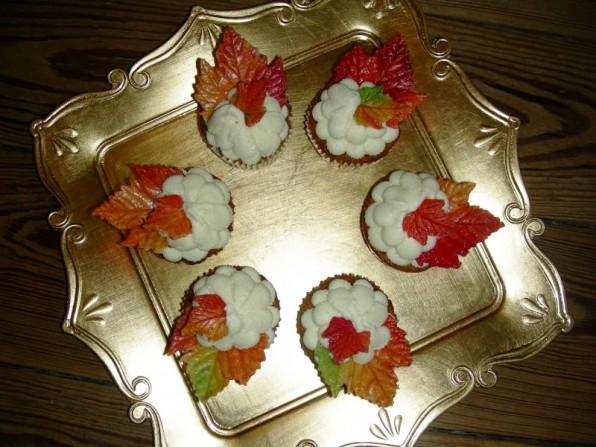 Karotten-Cupcakes mit Frischkäse