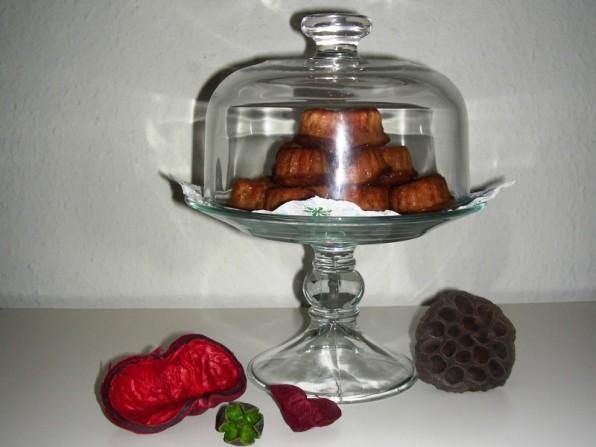 Meine ersten Gugl: Aprikose-Nougat-Kokos