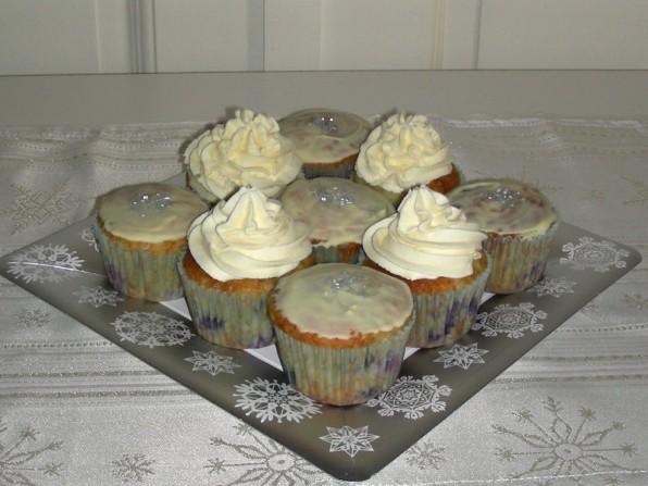 Blaubeer-Muffins & Blaubeer-Cupcakes