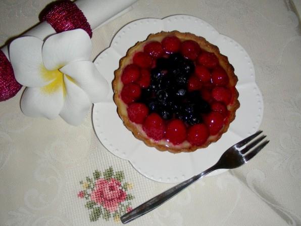 Beeren-Cheesecake Tartelettes