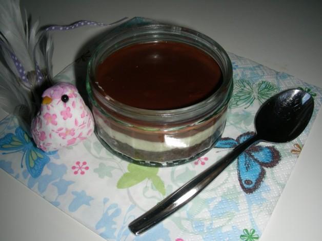 Chocolate- & Vanilla Cheesecake GÜ