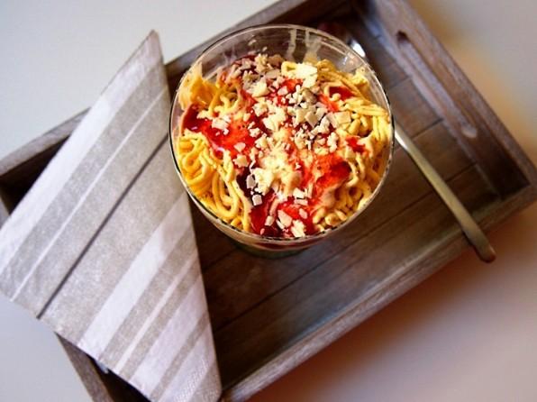 Spaghettieis selber machen