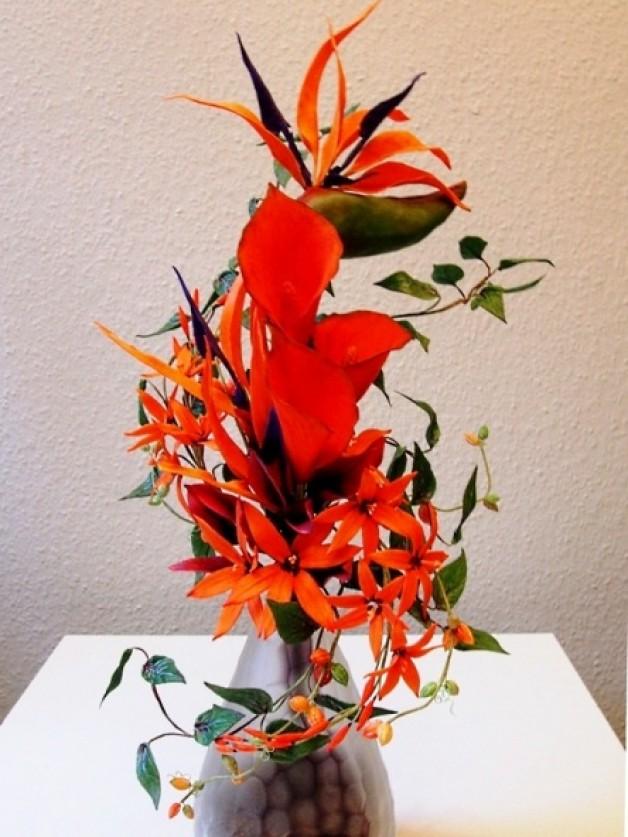 Paradiesvogel-Bouquet