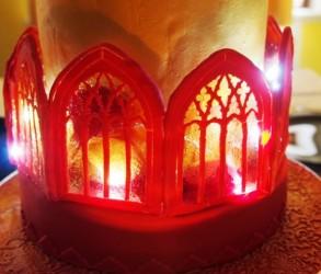 Weihnachtstorte Lichterglanz