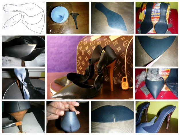 High Heels Fondant Tutorial
