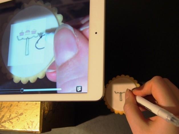 Digitale Alternative zum Copy Cake Projektor