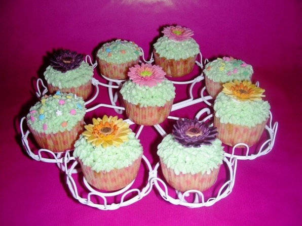 Himbeer-Cupcakes