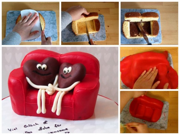 Sofa-Torte Tutorial