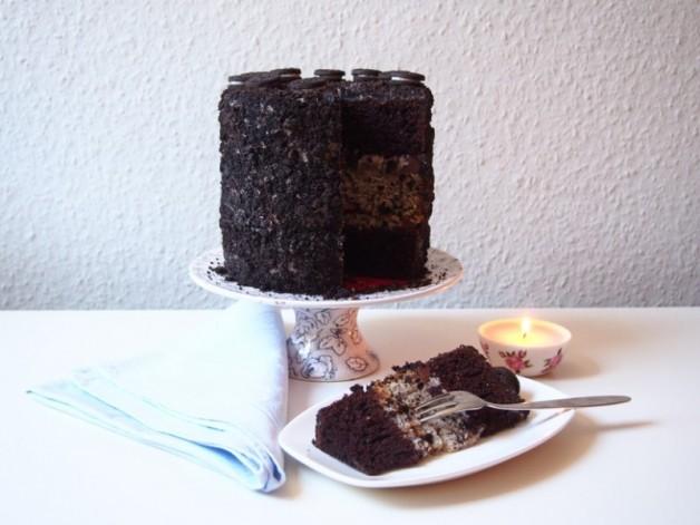 Oreo-Torte: Gaaaanz viele Oreos und noch mehr Oreos
