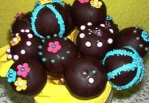 Cake Pops mit Marmelade
