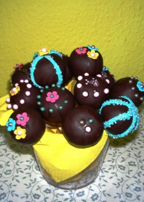 Bunte Cake-Pops