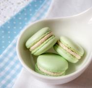 Erdbeer-Joghurt-Macarons