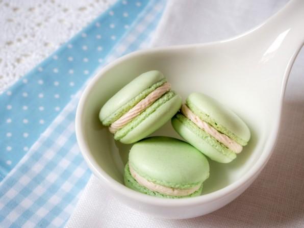 Erbeer-Joghurt-Ganache für Macarons