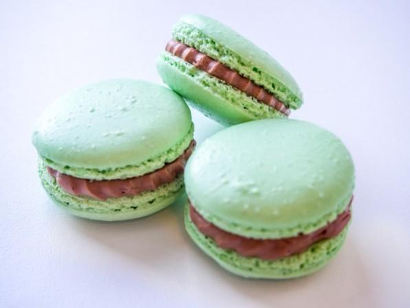 Mokka-Macarons