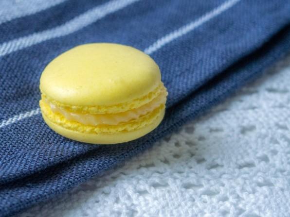 Zitronen-Macarons (und ein bisschen was zu mir und meinem Blog)