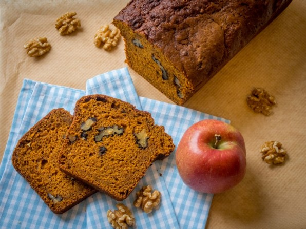 Kürbis-Kuchen oder Pumpkin Bread