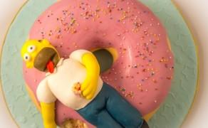 Simpsons-Torte